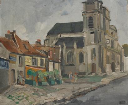 juliette-deshayes-L'église de Le Mesnil-au-Bry